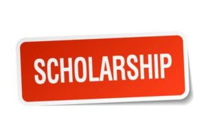 38152115-scholarship-red-square-sticker-isolated-on-white