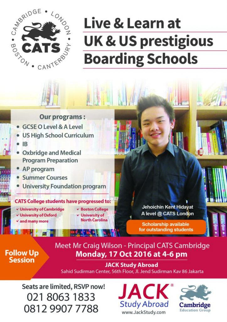 Cats Info Session