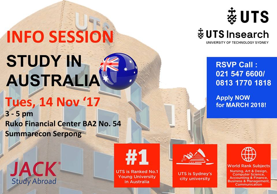 UTS info session