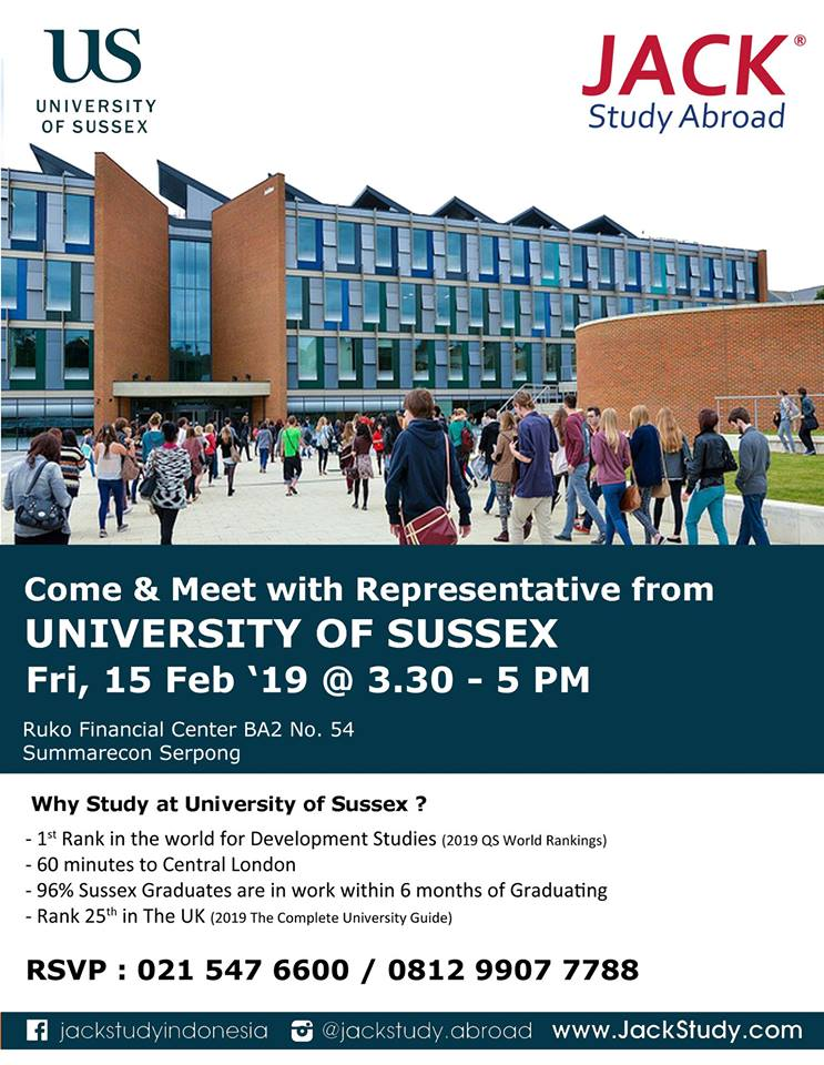 sussex info session