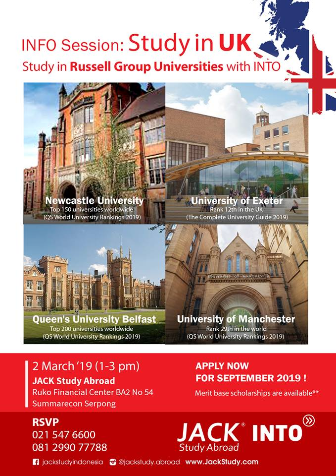 info session study in UK 2019