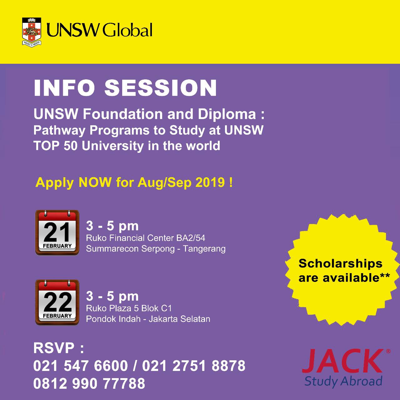 unsw global info session
