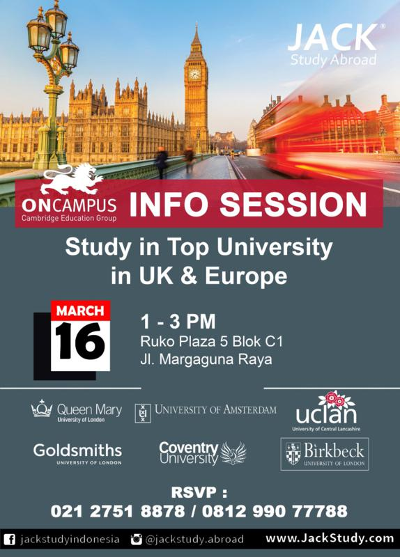 oncampus info session