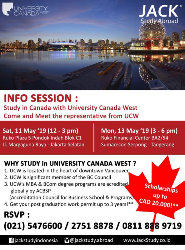 info session university canada west