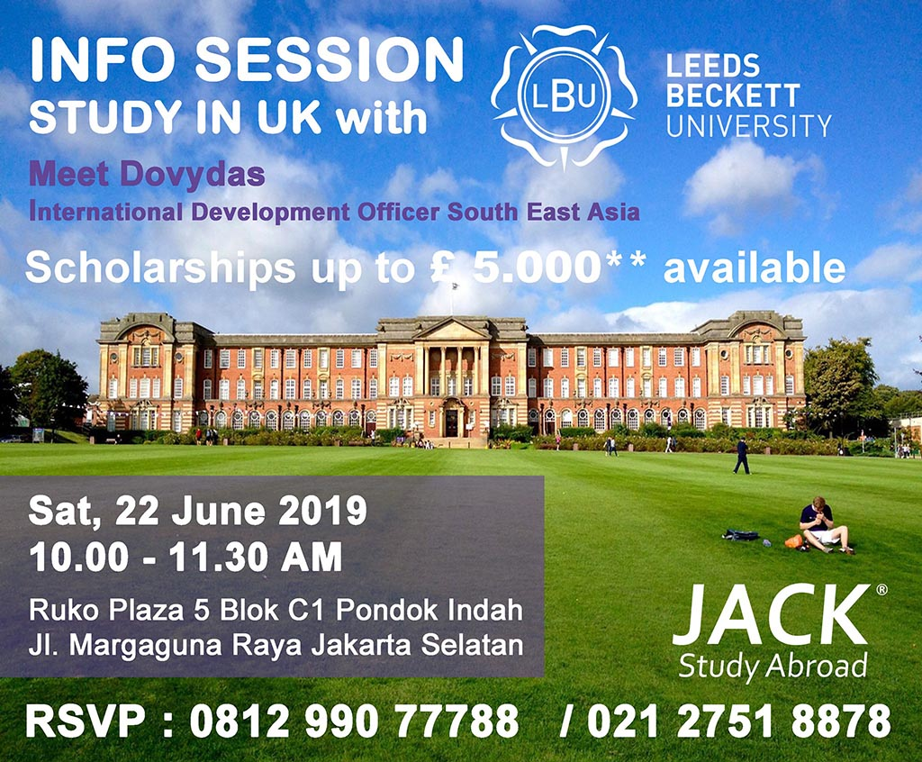 leeds beckett info session