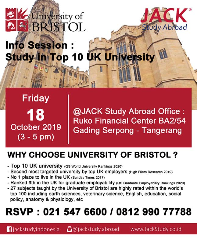 uni of bristol info session