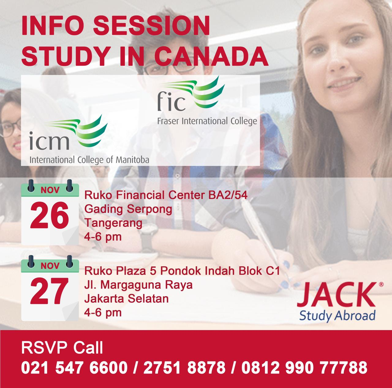 info session study in canada