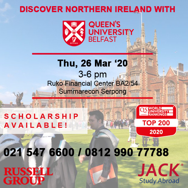 QUB info session