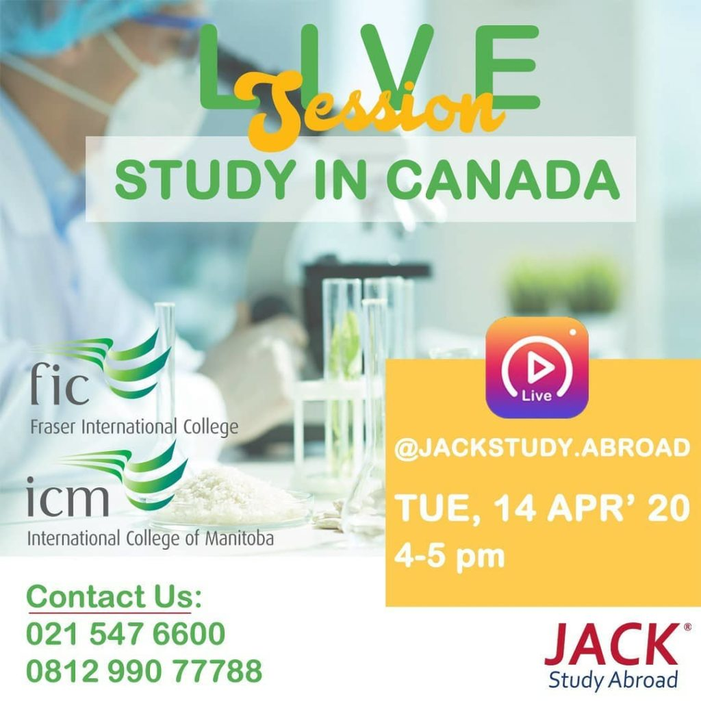 live session study in canada