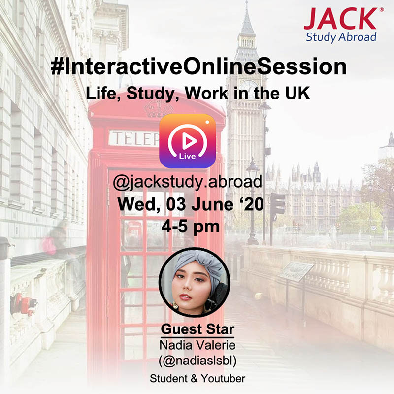 Online Session Live, Study & Work in UK