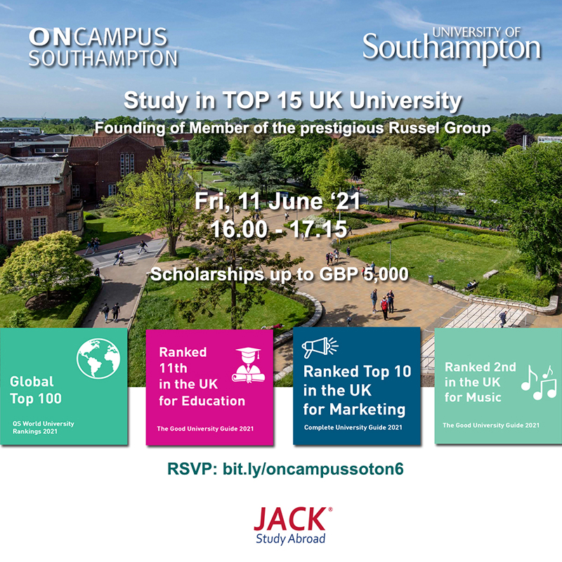 On Campus Soton Online Session